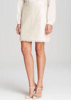 kate spade new york Shiny Tweed Skirt