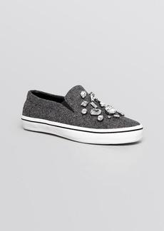 kate spade new york Slip On Flat Sneakers - Slater Flannel
