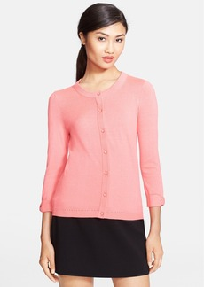 kate spade new york 'somerset' silk blend cardigan