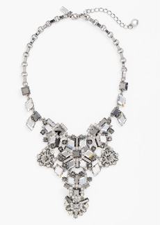 kate spade new york 'space age floral' statement necklace