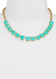kate spade new york 'squared away' collar necklace