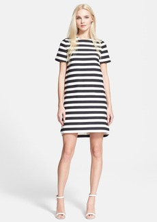 kate spade new york stripe shift dress