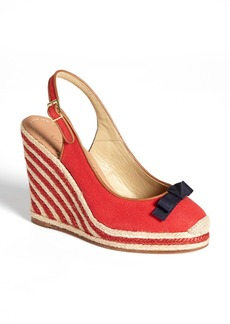 kate spade new york 'sweetie' platform wedge espadrille