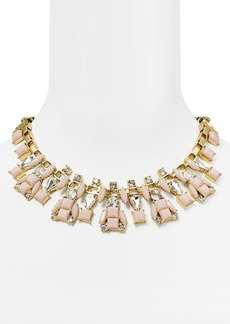 kate spade new york Turn Heads Box Chain Statement Necklace, 17""