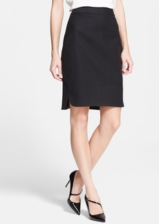 kate spade new york twill pencil skirt