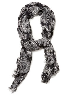 Kate Spade New York Two Color Regal Plumes Scarf