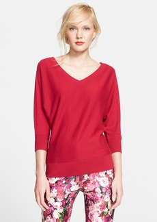 kate spade new york v-neck dolman sweater