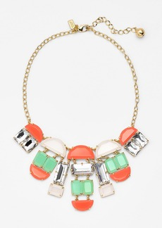 kate spade new york 'varadero tile' mixed stone statement necklace