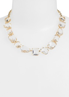 kate spade new york 'vegas jewels' stone collar necklace