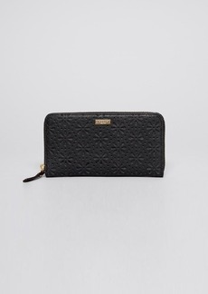 kate spade new york Wallet - Cedar Street Perforated Lacy Continental