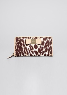 kate spade new york Wallet - Veranda Place Lacey Leopard Continental