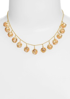 kate spade new york 'wallflower ball' fringe necklace