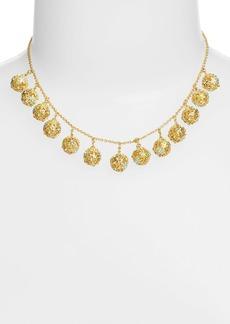 kate spade new york 'wallflower ball' fringe necklace