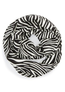 kate spade new york 'white tiger' infinity scarf