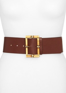 kate spade new york wide leather belt