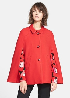 kate spade new york wool capelet