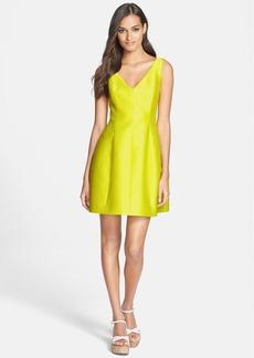 kate spade new york woven a-line dress