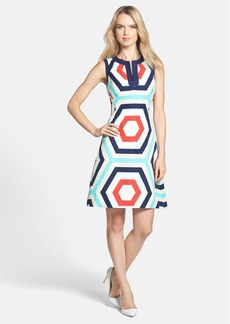 kate spade new york 'zuma' cotton blend sheath dress