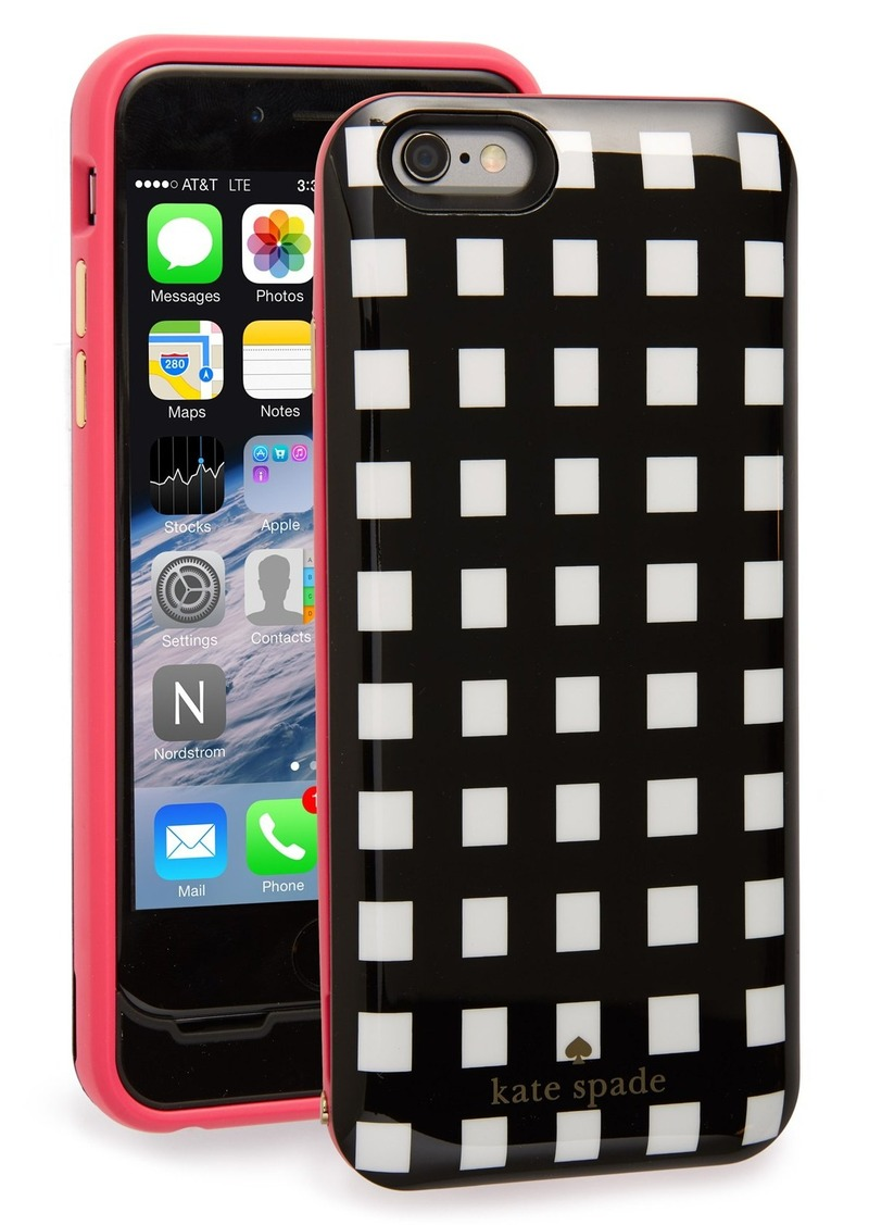 Kate Spade kate spade new york iPhone 6 u0026 6s charging case : Misc ...