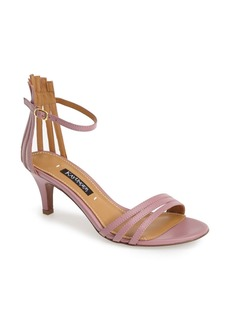 Kay Unger 'Basque' Strappy Leather Sandal (Women)