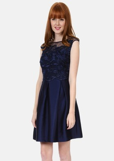Kay Unger Lace Bodice Dress