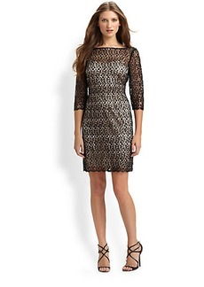Kay Unger Lace Dress