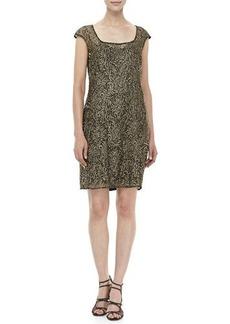 Kay Unger New York Beaded Cocktail Dress
