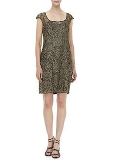 Kay Unger New York Beaded Cocktail Dress