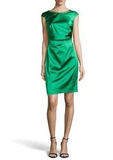 Kay Unger New York CAP SLEEVE SHORT DRESS
