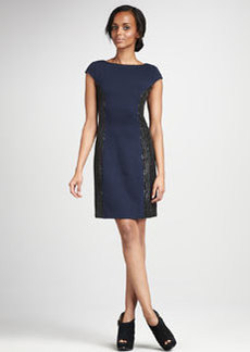 Kay Unger New York Open-Back Cocktail Dress