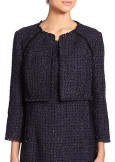 Kay Unger Paneled Tweed Jacket