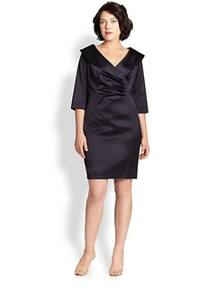 Kay Unger, Sizes 14-24 Satin Dress