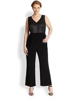 Kay Unger, Plus Size Sleeveless Jumpsuit