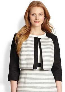 Kay Unger, Sizes 14-24 Striped Jacket