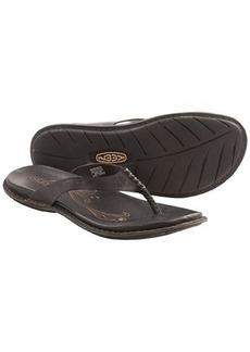 Keen Alman Flip-Flop Sandals - Leather (For Women)