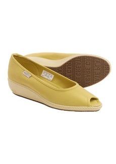 Keen Cortona Wedge CVS Shoes - Canvas, Peep Toe (For Women)