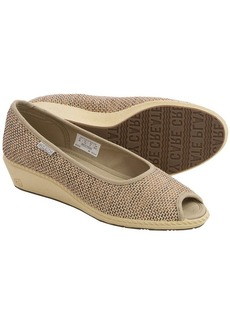 Keen Cortona Wedge Shoes - Jute, Peep Toe (For Women)