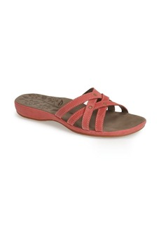 Keen 'Palms' Leather Slide Sandal (Women)