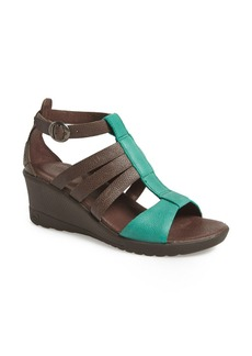 Keen 'Victoria' Leather Wedge Sandal (Women)
