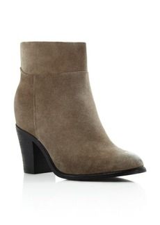 Kenneth Cole Allie Suede Mid Heel Booties