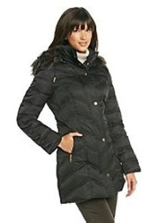 Kenneth Cole® Chevron Quilted Jacket