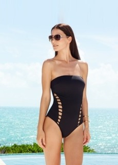 Kenneth Cole Cutout Bandeau One-Piece Swimsuit Women's Swimsuit