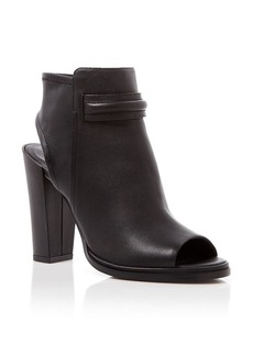 Kenneth Cole Open Toe Booties - Sydney High Heel