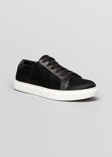 Kenneth Cole Flat Lace Up Sneakers - Kam Court