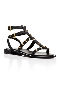 Kenneth Cole Flat Sandals - Neve Studded Gladiator
