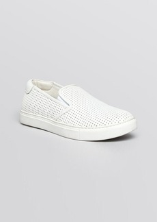 Kenneth Cole Flat Slip On Sneakers - Perforated Kerry
