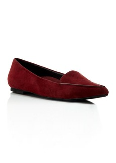 Kenneth Cole Gina Suede Pointed Flats