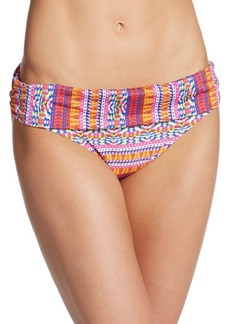 Kenneth Cole Mixed-Print Bikini Bottom