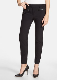 Kenneth Cole New York 'Alison' Zip Pocket Pants (Regular & Petite)