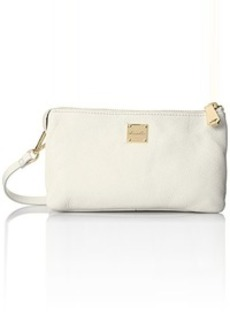 Kenneth Cole New York Alton ST Cross Body Bag, White, One Size